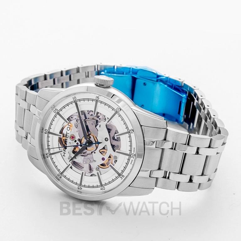 [NEW] Hamilton American Classic Automatic Skeleton Dial Stainless steel Men's Watch H40655151