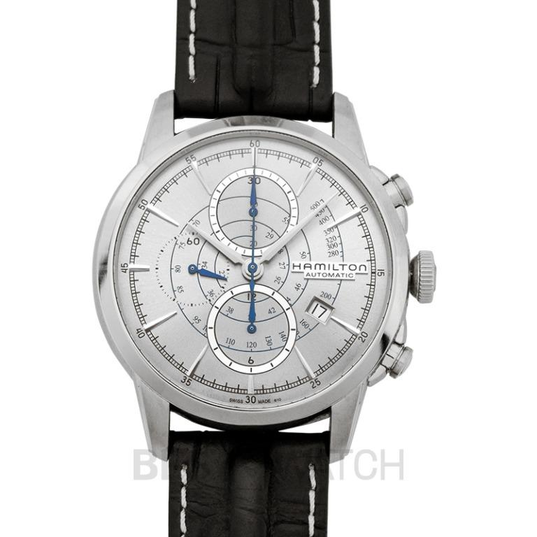 [NEW] Hamilton American Classic Railroad Automatic Silver Dial Stainless steel Men's Watch H40656781