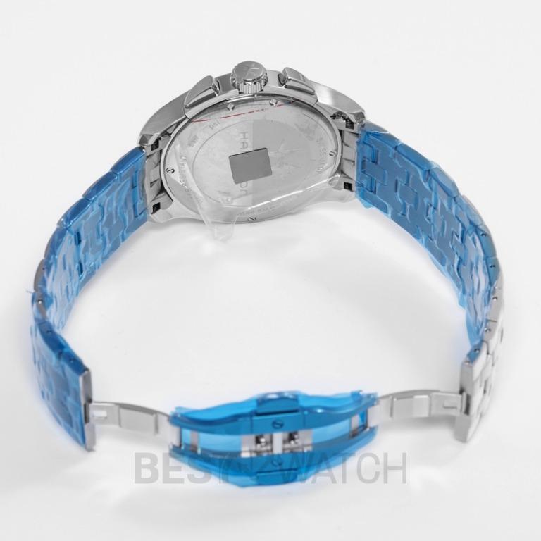 [NEW] Hamilton Jazzmaster Chronograph Quartz Silver Dial Stainless Steel Men's Watch H32612151