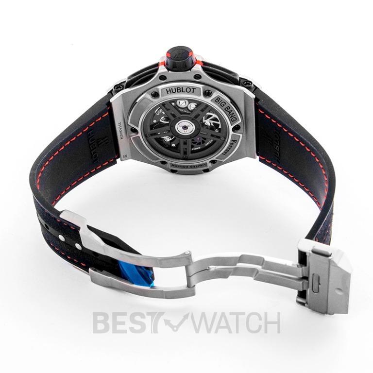[NEW] Hublot Big Bang Ferrari Unico Titanium Automatic Black Dial Men's Watch 402.NX.0123.WR