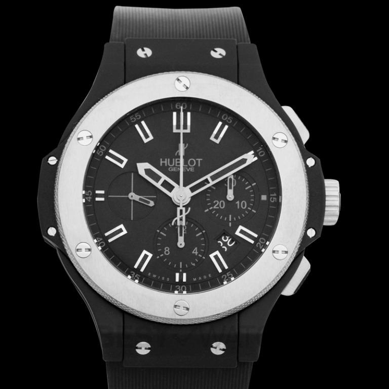 [NEW] Hublot Big Bang Ice Bang Automatic Black Dial Black Ceramic Men's Watch 301.CK.1140.RX