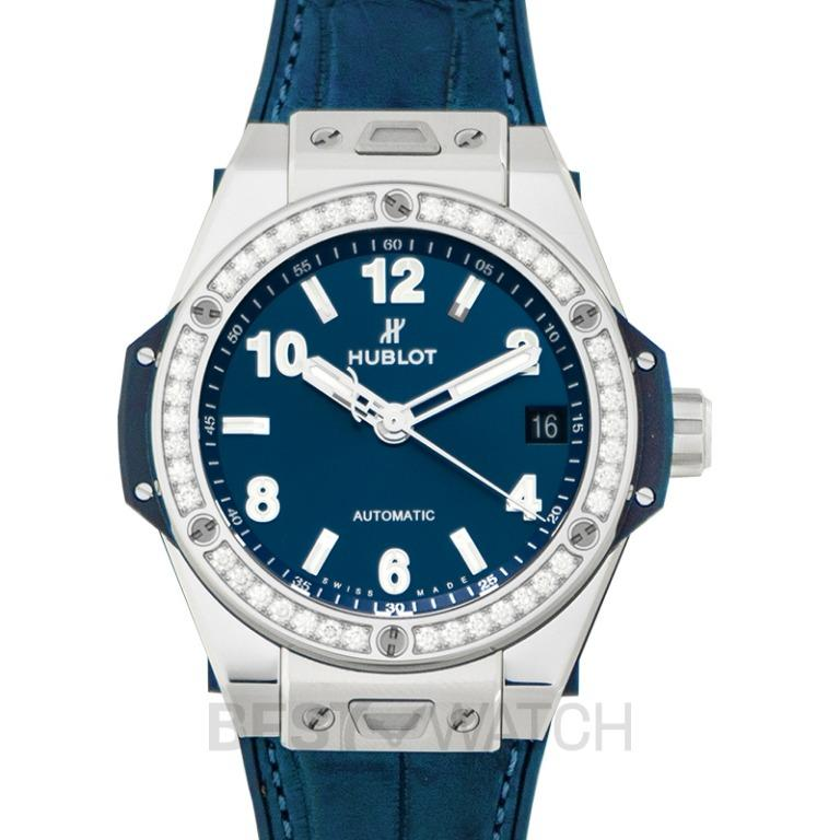 [NEW] Hublot Big Bang One Click Steel Blue Diamonds Automatic Blue Dial Steel Ladies Watch 465.SX.7170.LR.1204