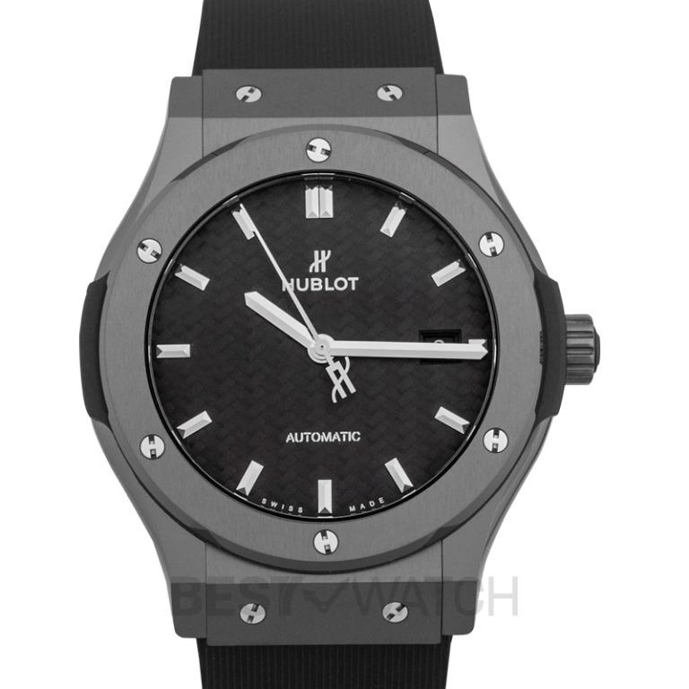 [NEW] Hublot Classic Fusion Black Magic Automatic Black Dial Ceramic Men's Watch 542.CM.1771.RX