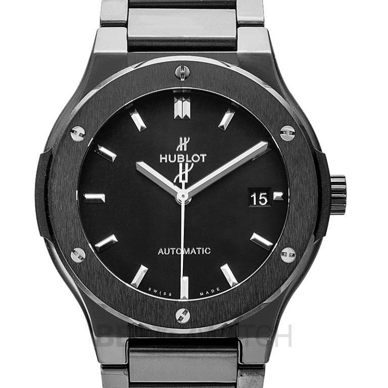 [NEW] Hublot Classic Fusion Black Magic Bracelet Automatic Black Dial Ceramic Men's Watch 510.CM.1170.CM