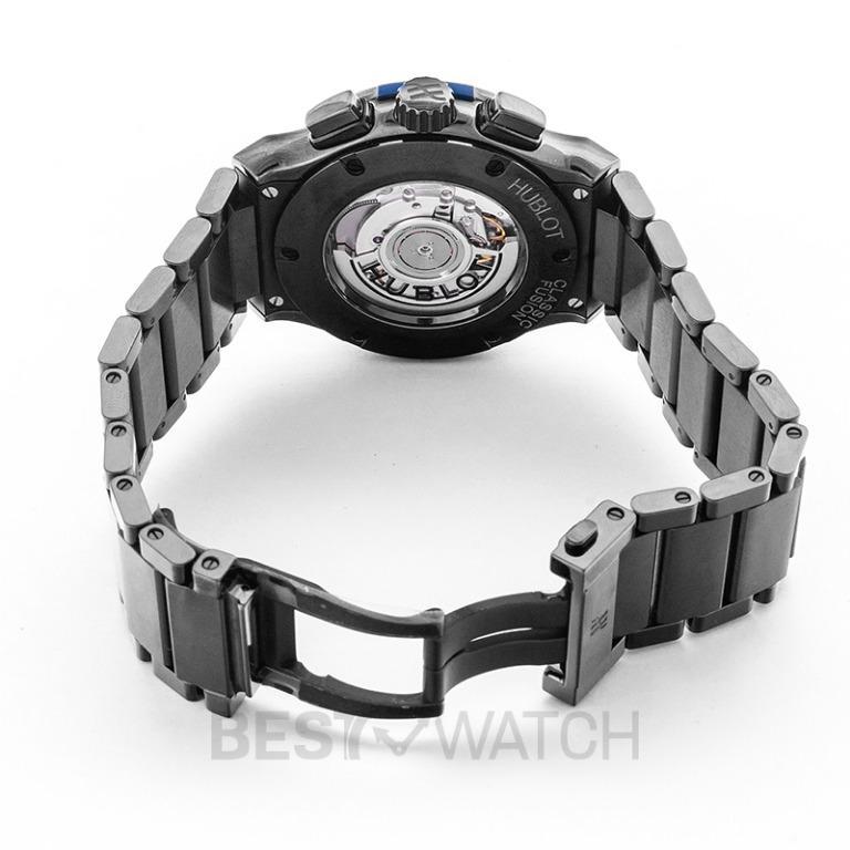[NEW] Hublot Classic Fusion Chronograph Ceramic Blue Bracelet Automatic Blue Dial Men's Watch 520.CM.7170.CM