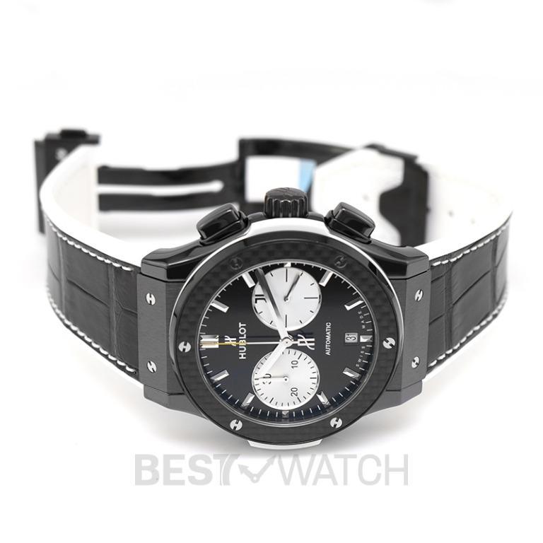 [NEW] Hublot Classic Fusion Chronograph Juventus Automatic Black Dial Ceramic Men's Watch 521.CQ.1420.LR.JUV18