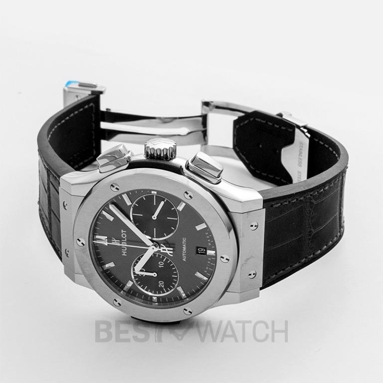 [NEW] Hublot Classic Fusion Racing Grey Chronograph Titanium Automatic Grey Dial Men's Watch 521.NX.7071.LR
