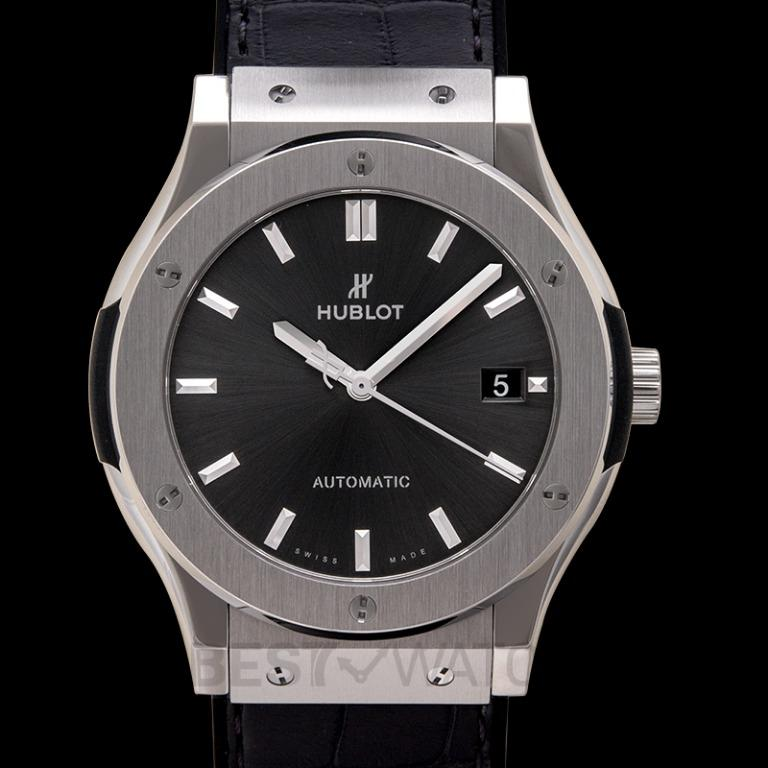 [NEW] Hublot Classic Fusion Racing Grey Titanium Automatic Grey Dial Men's Watch 511.NX.7071.LR