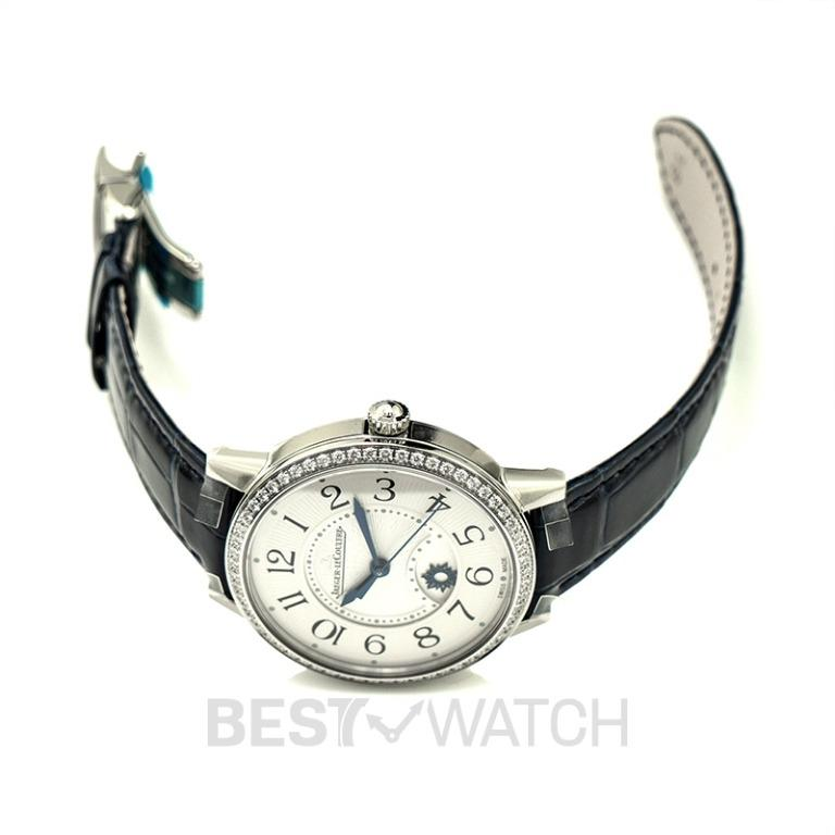[NEW] Jaeger LeCoultre Rendez-Vous Night & Day Medium Automatic Silver Dial Diamonds Ladies Watch Q3448430