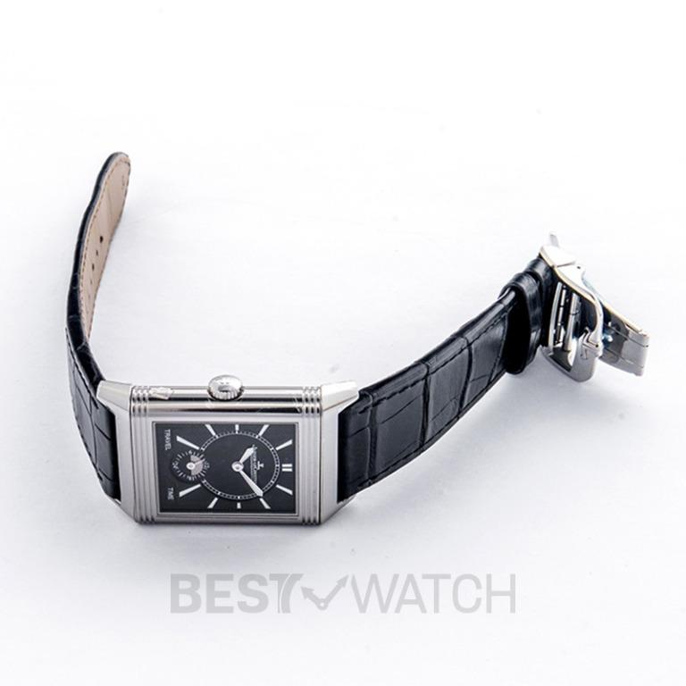 [NEW] Jaeger LeCoultre Reverso Classic Large Duoface Small Seconds Manual-winding Silver Dial Men's Watch Q3848420