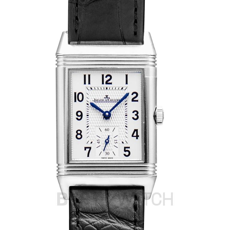 [NEW] Jaeger LeCoultre Reverso Classic Medium Small Seconds Manual-winding Silver Dial Men's Watch Q2438520