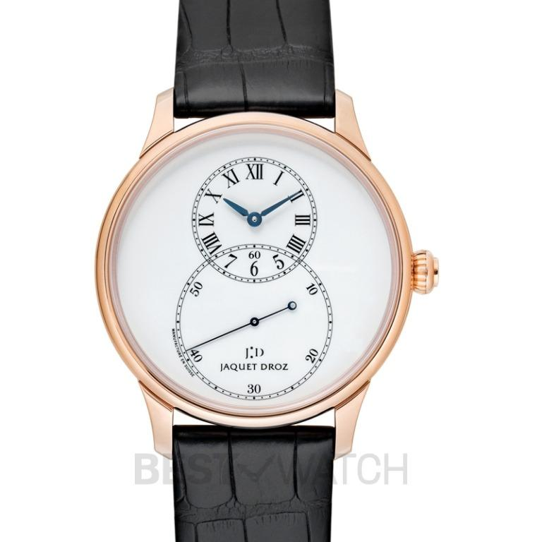 [NEW] Jaquet Droz Grande Seconde Email Ivoire 43mm Automatic Ivory Dial Men's Watch J003033204