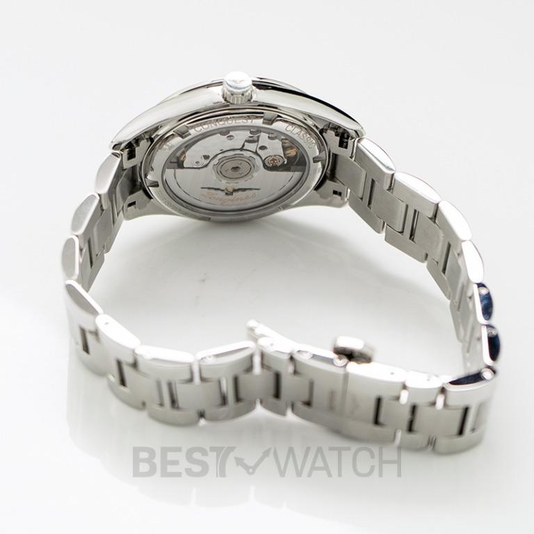 [NEW] Longines Conquest Classic Automatic Mother of Pearl Dial Diamond Ladies Watch L23850876