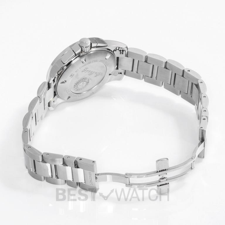 [NEW] Longines Conquest Special Edition 1/100th St. Moritz Quartz Silver Dial Men's Watch L37004786