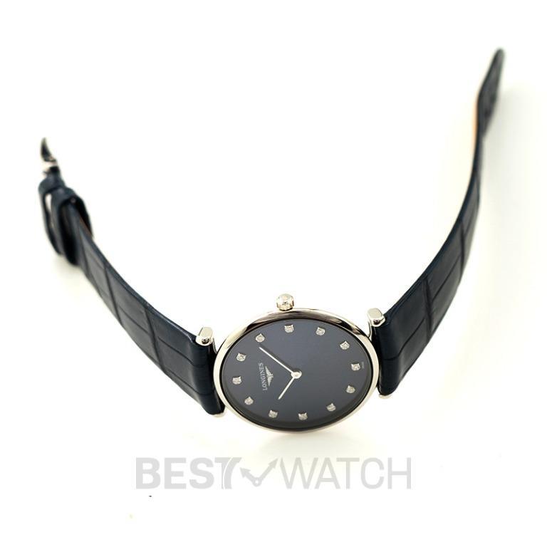 [NEW] Longines La Grande Classique de Longines Quartz Blue Dial Diamond Ladies Watch L45124972