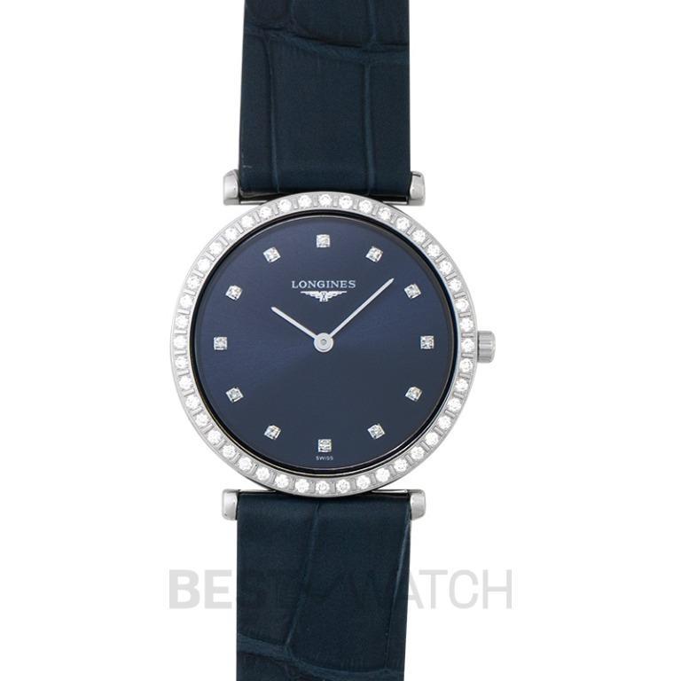 [NEW] Longines La Grande Classique de Longines Quartz Blue Dial Diamond Ladies Watch L45230972