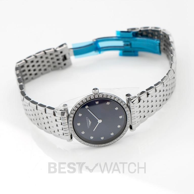 [NEW] Longines La Grande Classique de Longines Quartz Blue Dial Diamond Ladies Watch L45230976