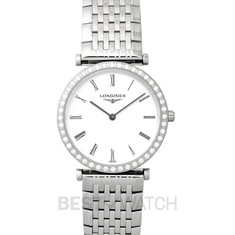 [NEW] Longines La Grande Classique de Longines Quartz White Dial Diamond Ladies Watch L45230116