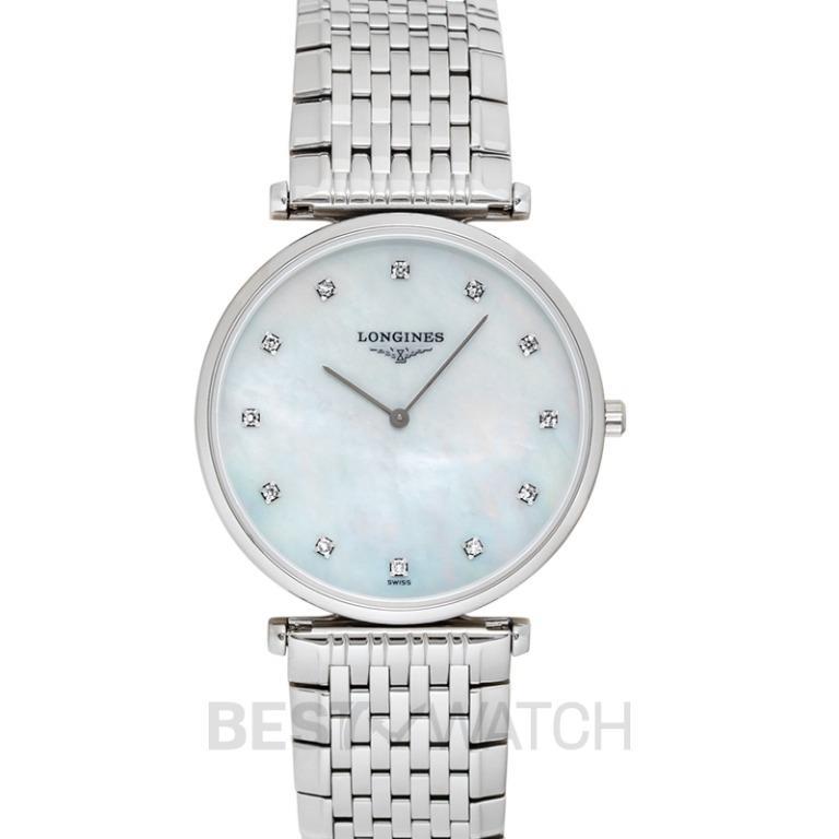 [NEW] Longines La Grande Classique de Longines Quartz White Dial Diamonds Ladies Watch L47094886