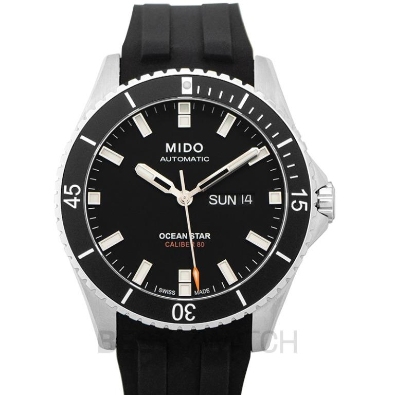 [NEW] MIDO Ocean Star Captain Automatic Black Dial Men's Watch M026.430.17.051.00