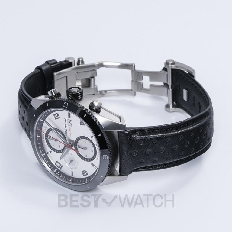 [NEW] Montblanc TimeWalker Automatic Chronograph 43 mm Automatic Silver Dial Men's Watch 116100