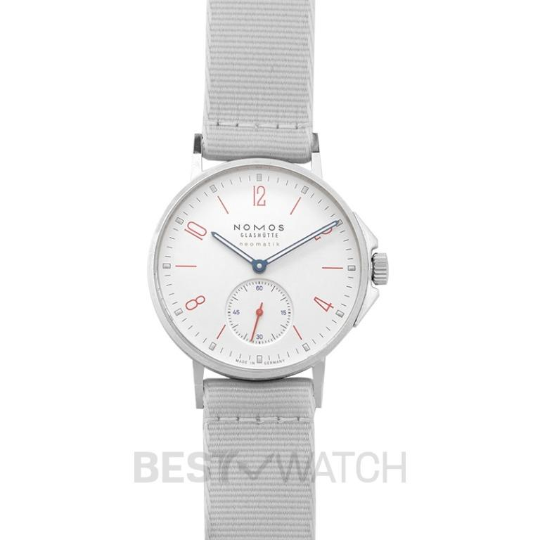 [NEW] Nomos Glashütte Ahoi Neomatik Siren White Automatic White Dial 36.3mm Unisex Watch 564