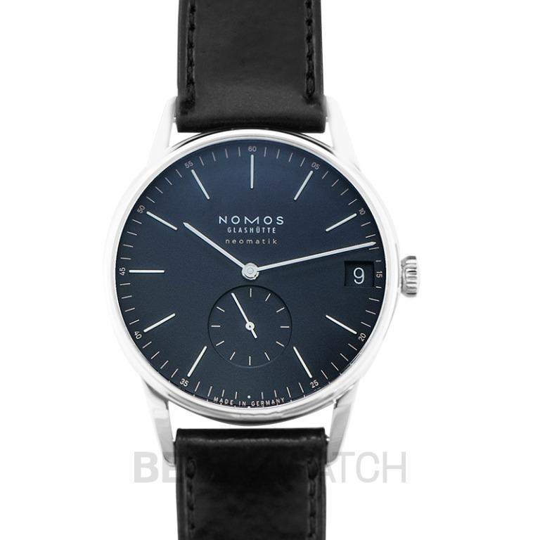 [NEW] Nomos Glashütte Orion Neomatik 41 Date Midnight Blue Automatic Blue Dial 40 mm Men's Watch 363