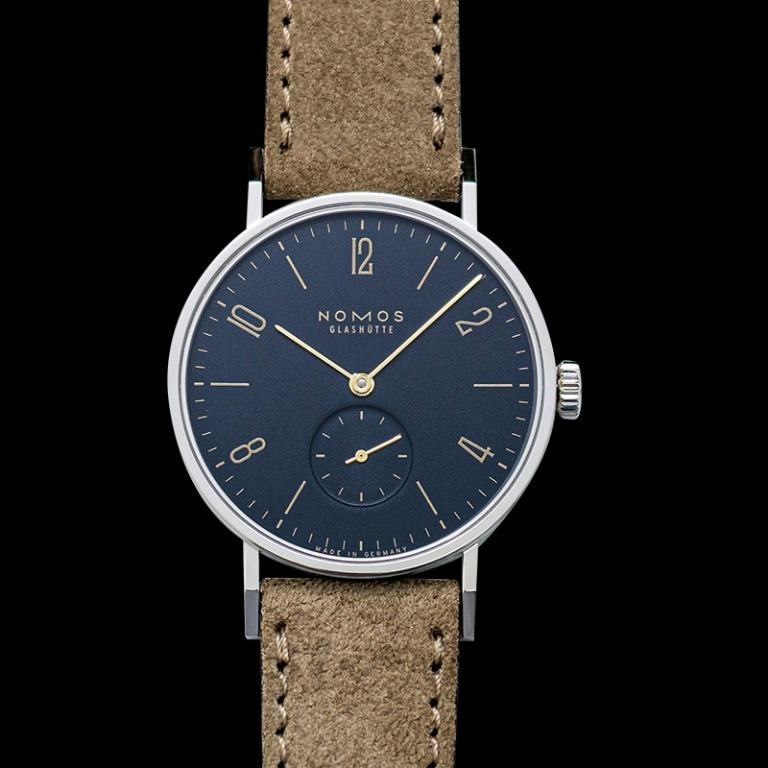 [NEW] Nomos Glashütte Tangente Midnight Blue Manual-winding Blue Dial 35 mm Unisex Watch 133