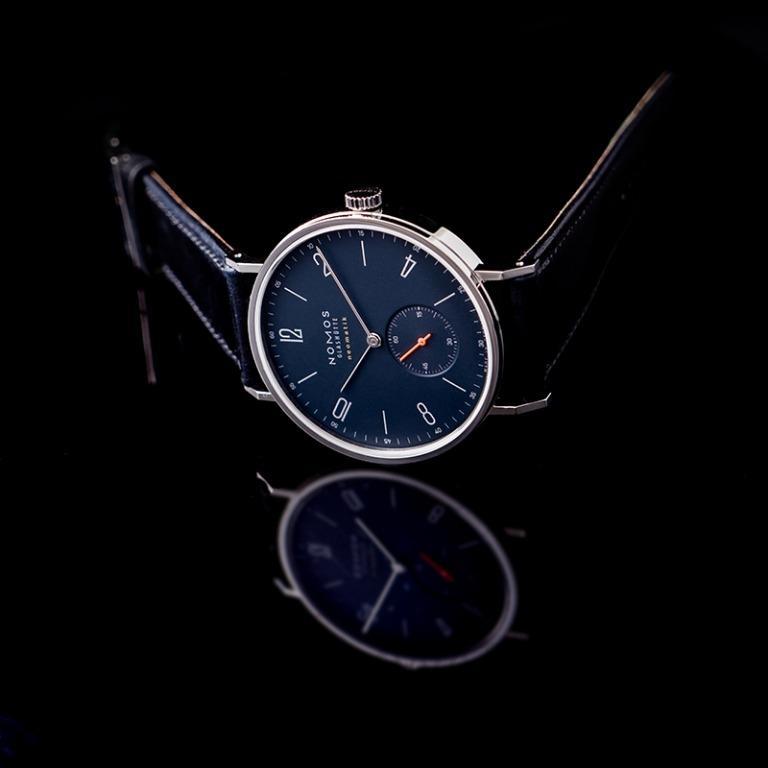 [NEW] Nomos Glashütte Tangente Neomatik 39 Midnight Blue Automatic Blue Dial 38.5mm Men's Watch 142