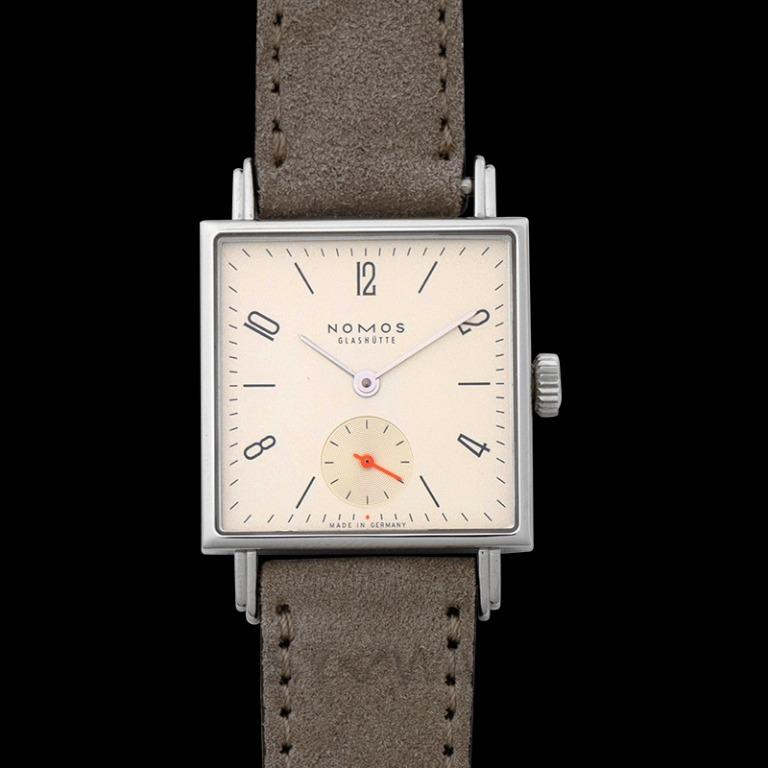 [NEW] Nomos Glashütte Tetra 27 Champagne Manual-winding Champagne Dial 27.5mm Ladies Watch 473