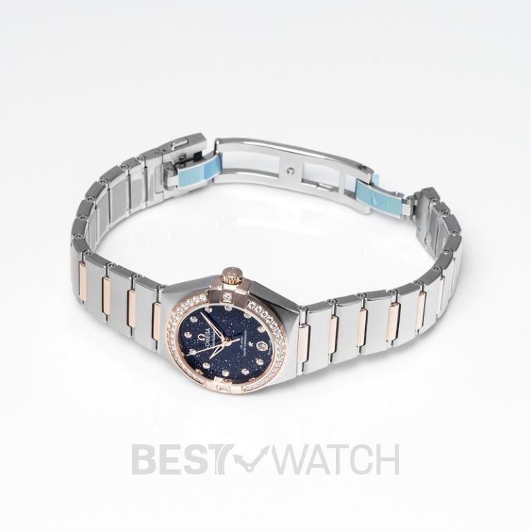 [NEW] Omega Constellation Co‑Axial Master Chronometer 29 mm Automatic Blue Dial Diamond Ladies Watch 131.25.29.20.53.002