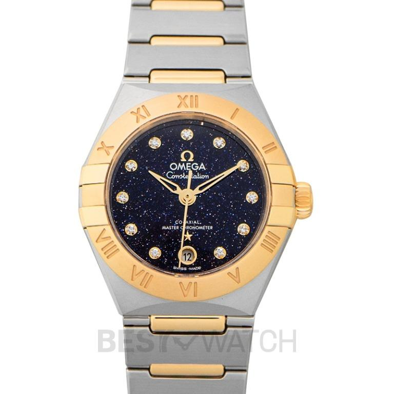 [NEW] Omega Constellation Co-Axial Master Chronometer 29mm Automatic Blue Dial Diamond Ladies Watch 131.20.29.20.53.001