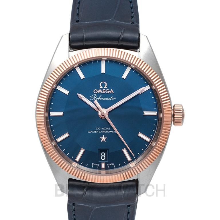 [NEW] Omega Constellation Globemaster Co‑Axial Master Chronometer 39mm Automatic Blue Dial Gold Men's Watch 130.23.39.21.03.001