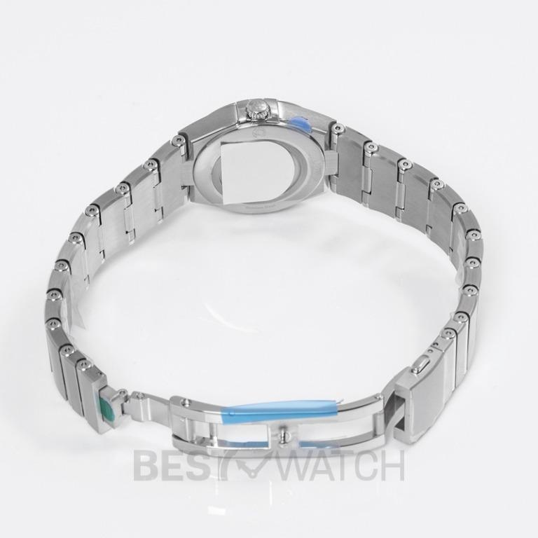 [NEW] Omega Constellation Manhattan Quartz 28mm Quartz White Mother Of Pearl Dial Steel Ladies Watch 131.10.28.60.05.001