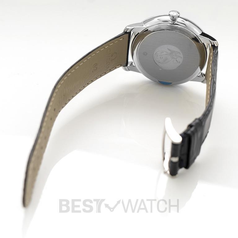 [NEW] Omega De Ville Prestige Co‑Axial 39.5mm Automatic Grey Dial Steel Men's Watch 424.13.40.20.06.002