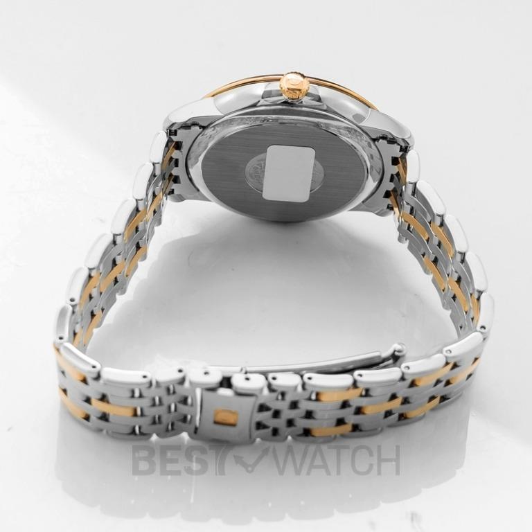 [NEW] Omega De Ville Prestige Co-Axial 39.5mm Silver Dial Steel Red Gold Men's Watch 424.20.40.20.02.003