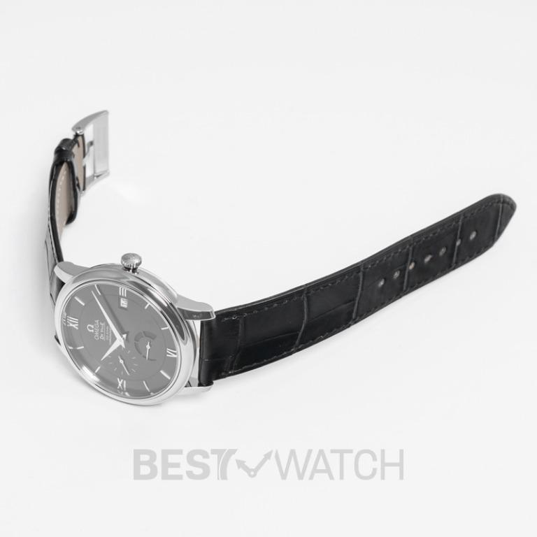[NEW] Omega De Ville Prestige Co‑Axial Power Reserve 39.5mm Automatic Black Dial Steel Men's Watch 424.13.40.21.01.001