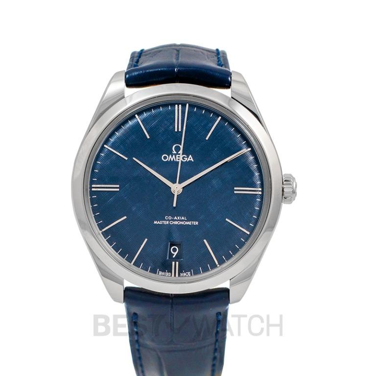 [NEW] Omega De Ville Tresor Co-Axial Master Chronometer 40 mm Manual-winding Blue Dial Steel Men's Watch 435.13.40.21.03.001