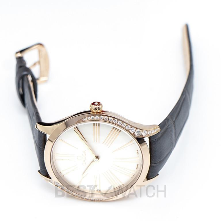 [NEW] Omega De Ville Tresor Quartz 36mm Quartz Silver Dial Gold Unisex Watch 428.58.36.60.02.001