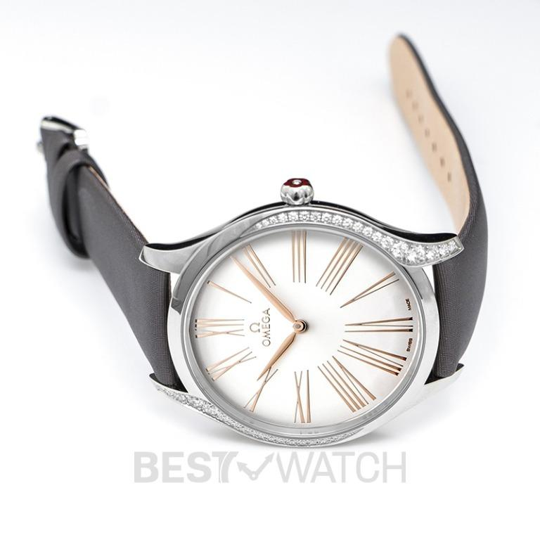 [NEW] Omega De Ville Tresor Quartz 39mm Quartz Silver Dial Steel Men's Watch 428.17.39.60.02.001