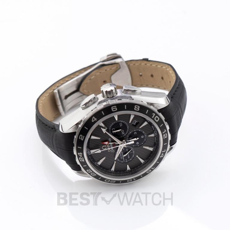 [NEW] Omega Seamaster Aqua Terra 150M Co‑Axial GMT Chronograph 44 mm Automatic Grey Dial Steel Men's Watch 231.13.44.52.06.001