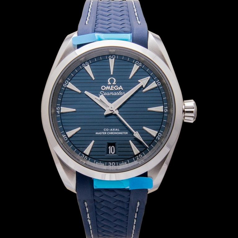 [NEW] Omega Seamaster Aqua Terra 150M Co-Axial Master Chronometer 38 mm Automatic Blue Dial Steel Men's Watch 220.12.38.20.03.001