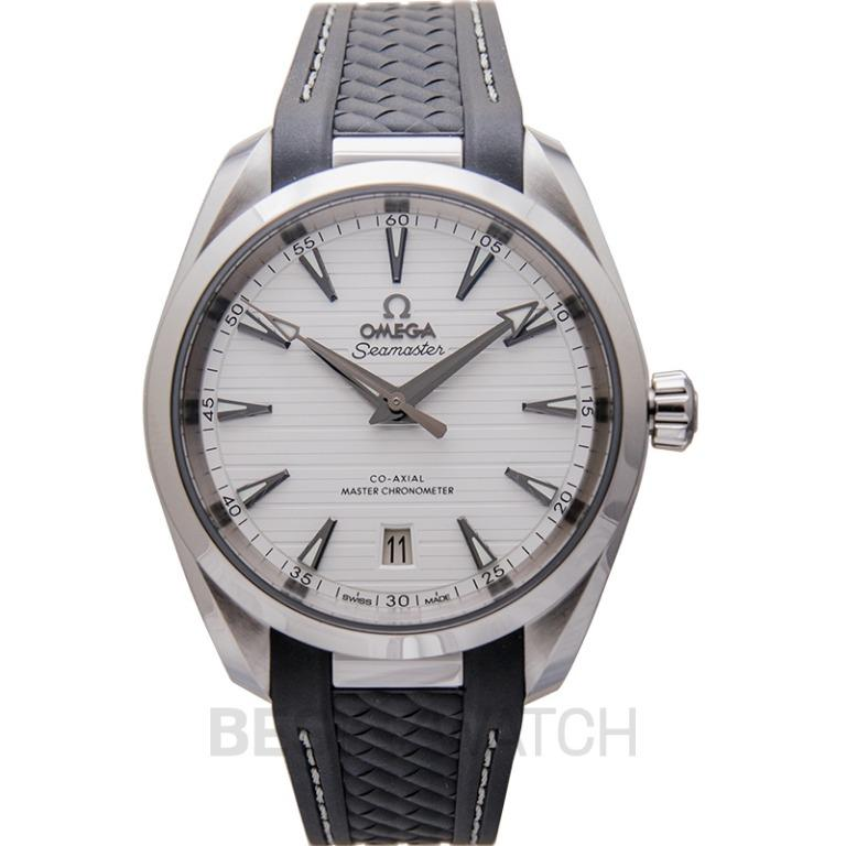 [NEW] Omega Seamaster Aqua Terra 150M Co‑Axial Master Chronometer 38mm Automatic Silver Dial Steel Men's Watch 220.12.38.20.02.001