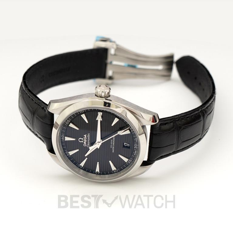 [NEW] Omega Seamaster Aqua Terra 150M Co-Axial Master Chronometer 41mm Automatic Black Dial Steel Men's Watch 220.13.41.21.01.001