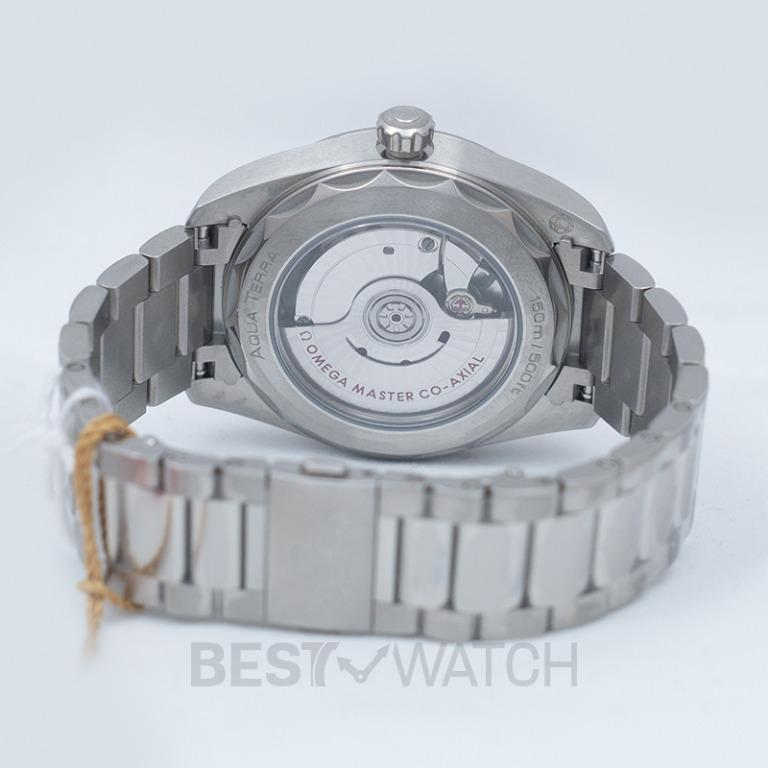 [NEW] Omega Seamaster Aqua Terra 150M Co‑Axial Master Chronometer Ladies' 38 mm Automatic Grey Dial Diamonds Ladies Watch 220.10.38.20.56.001