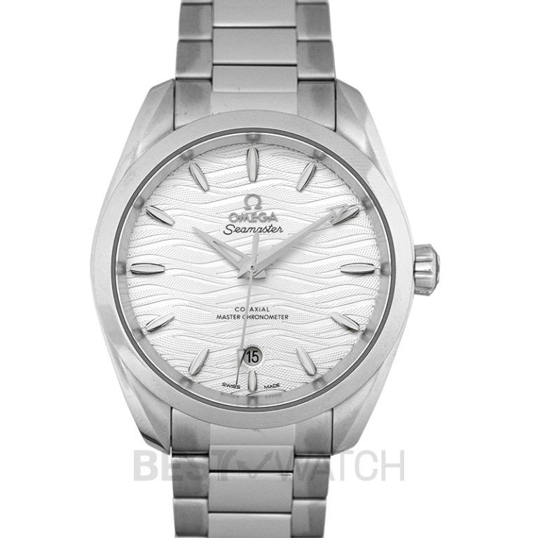 [NEW] Omega Seamaster Aqua Terra 150M Co‑Axial Master Chronometer Ladies 38mm Automatic Silver Dial Steel Ladies Watch 220.10.38.20.02.003