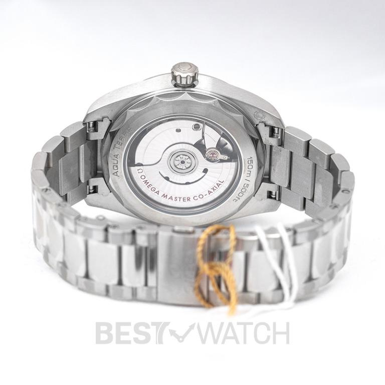 [NEW] Omega Seamaster Aqua Terra 150M Co‑Axial Master Chronometer Ladies' 38mm Automatic White Mother Of Pearl Dial Diamonds Ladies Watch 220.10.38.20.55.001