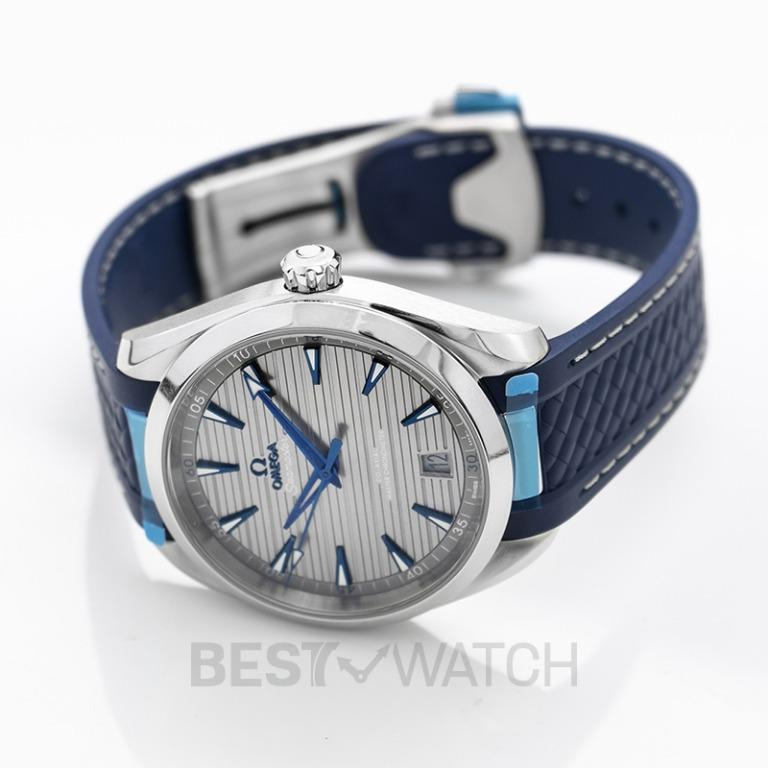[NEW] Omega Seamaster Aqua Terra 150M Omega Co‑Axial Master Chronometer 41mm Automatic Grey Dial Stainless Steel Men's Watch 220.12.41.21.06.001