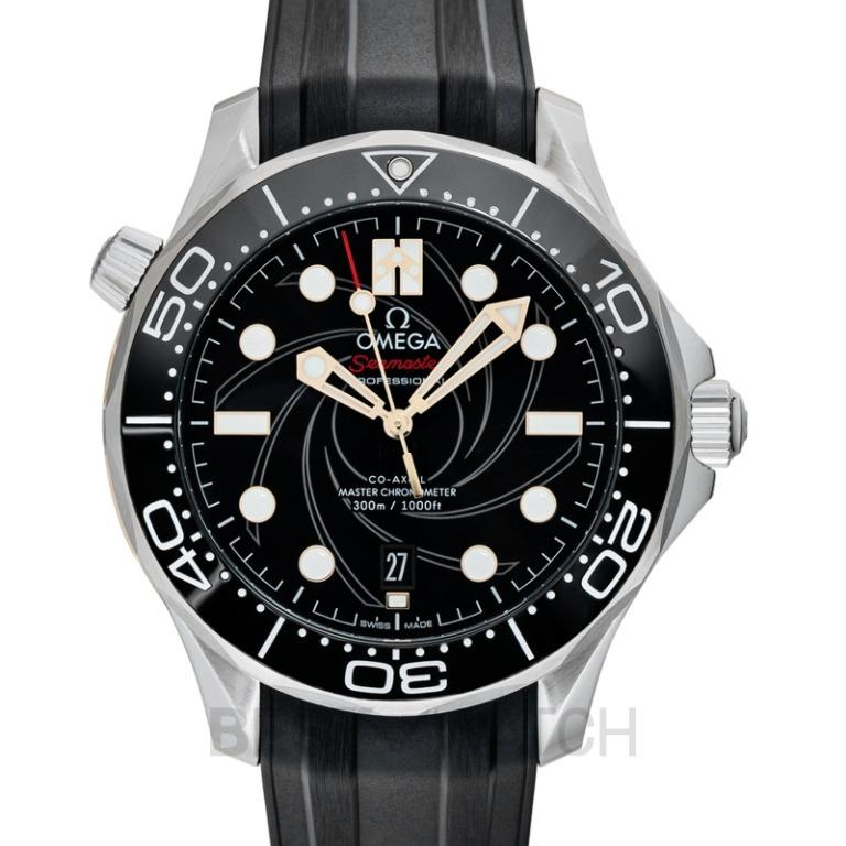 [NEW] Omega Seamaster Co-Axial Master Chronometer 42 mm James Bond Automatic Black Dial Men's Watch 210.22.42.20.01.004