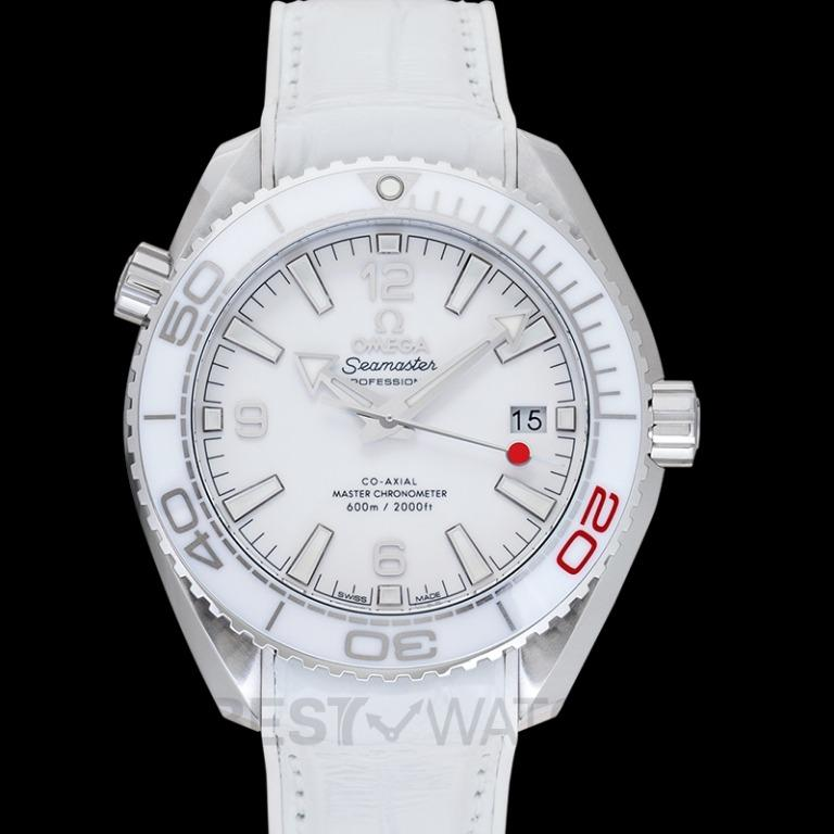 [NEW] Omega Seamaster Planet Ocean 600M Co-Axial 39.5 Master Olympic Games Automatic White Dial Steel Men's Watch 522.33.40.20.04.001